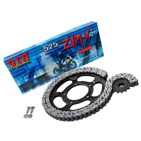 Комплект цепи и звезд на мотоцикл Yamaha