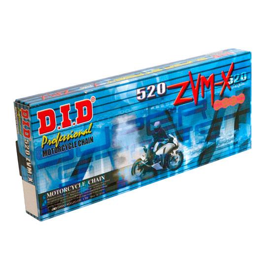 Цепь приводная для мотоцикла DID520 ZVMX 106