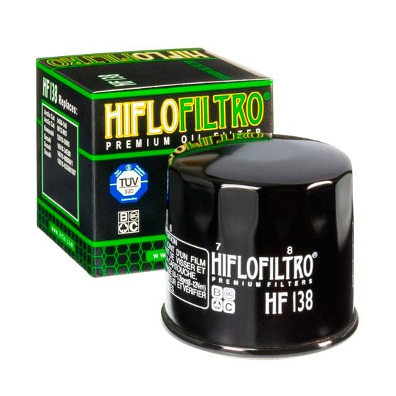Масляный фильтр для мотоцикла Suzuki Hiflofiltro HF 138