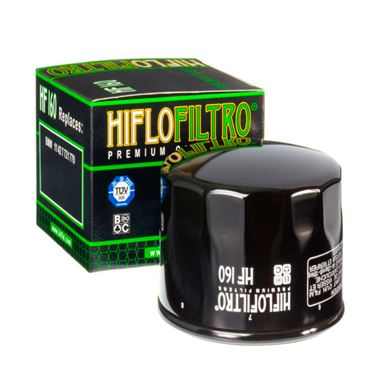 Масляный фильтр для мотоцикла BMW Hiflofiltro HF 160