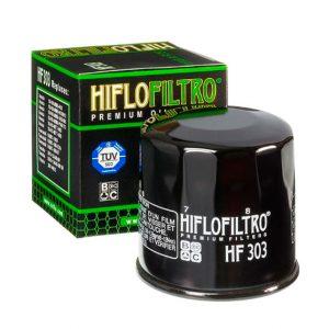 Масляный фильтр для мотоцикла Honda Hiflofiltro HF 303