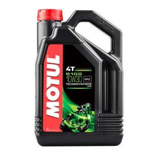 Моторное масло для мотоцикла Motul 5100 4T 10W30 4L