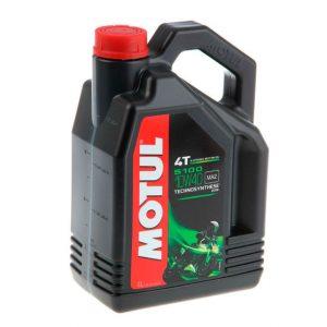 Моторное масло для мотоцикла Motul 5100 4T 10W40 4L
