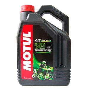 Моторное масло для мотоциклов Motul 5100 4T 15W50