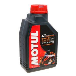 Моторное масло для мотоцикла Motul 7100 4T 10W30 1L