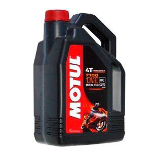 Моторное масло для мотоцикла Motul 7100 4T 10W30 4L