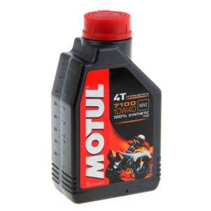Моторное масло для мотоцикла Motul 7100 4T 10W40 1L
