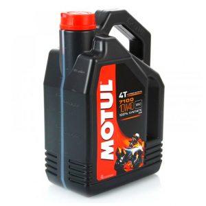 Моторное масло для мотоцикла Motul 7100 4T 10W40 4L