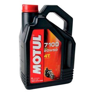 Моторное масло для мотоцикла Motul 7100 4T 20W50 4L