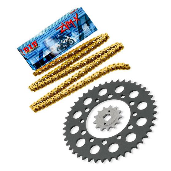 Комплект цепи и звезд на мотоцикл Kawasaki