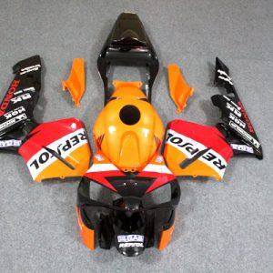 Пластик на мотоцикл Honda CBR600RR 2003-2004 Repsol