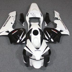 Пластик на мотоцикл Honda CBR600RR 2005-2006 Черно-белый