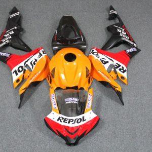 Пластик на мотоцикл Honda CBR600RR 2007-2008 Repsol
