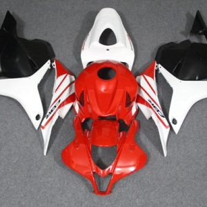 Пластик на мотоцикл Honda CBR600RR 2009-2012 Red-White-Black