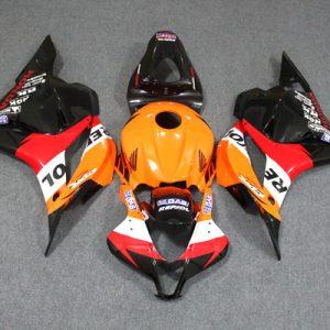 Пластик на мотоцикл Honda CBR600RR 2009-2012 Repsol