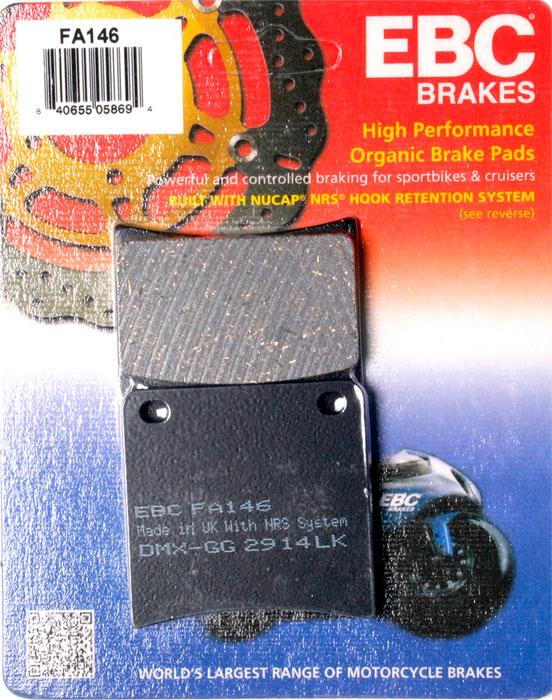 тормозные колодки для мотоцикла Suzuki EBC FA146