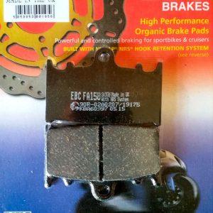 тормозные колодки для мотоцикла Kawasaki EBC FA158