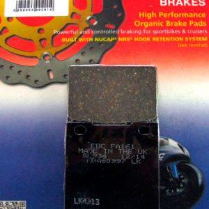 тормозные колодки для мотоцикла Kawasaki EBC FA161