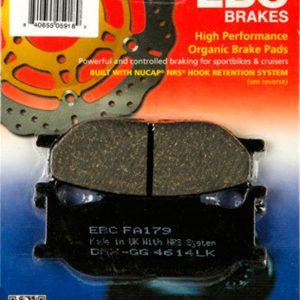 тормозные колодки для мотоцикла Yamaha EBC FA179