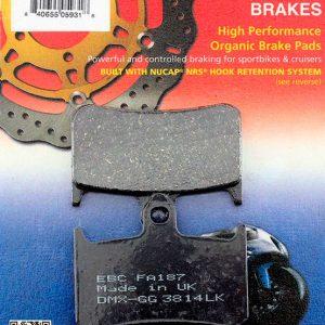 тормозные колодки для мотоцикла Honda EBC FA187