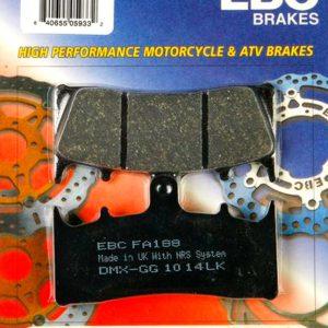 тормозные колодки для мотоцикла Kawaski EBC FA188