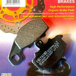 тормозные колодки для мотоцикла Kawasaki EBC FA192
