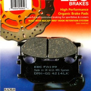 тормозные колодки для мотоцикла Yamaha EBC FA199