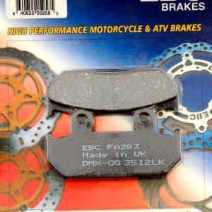 тормозные колодки для мотоцикла Honda EBC FA203