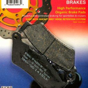 тормозные колодки для мотоцикла BMW EBC FA209/2