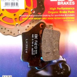 тормозные колодки для мотоцикла Yamaha EBC FA213