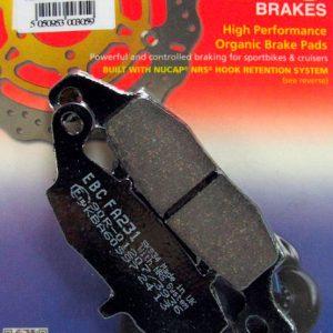 тормозные колодки для мотоцикла Kawaski EBC FA231