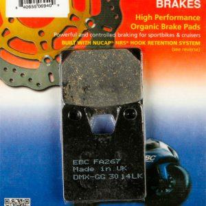 тормозные колодки для мотоцикла Yamaha EBC FA267