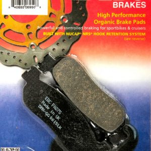 тормозные колодки для мотоцикла Yamaha EBC FA275