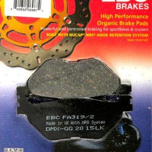 тормозные колодки для мотоцикла Yamaha EBC FA319/2