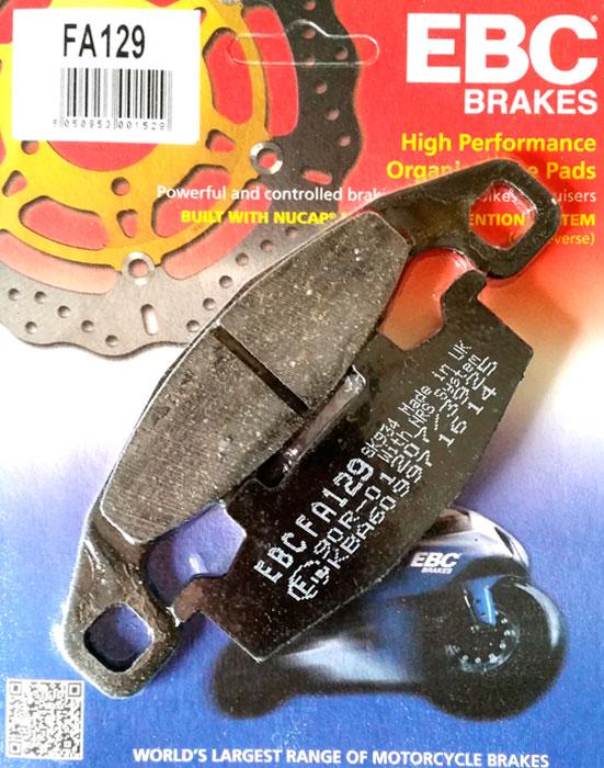 тормозные колодки для мотоцикла Suzuki EBC FA129