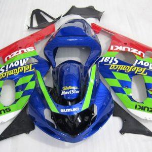Пластик на мотоцикл Suzuki GSX-R1000 2000-2002 MoviStars