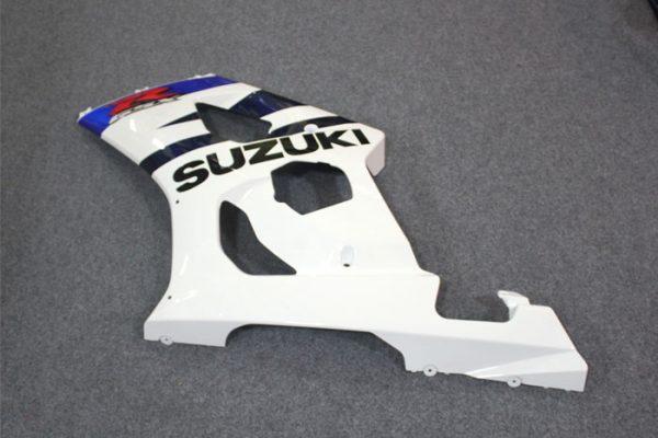 Пластик на мотоцикл Suzuki GSX-R1000 2003-2004 Бело-Синий-1