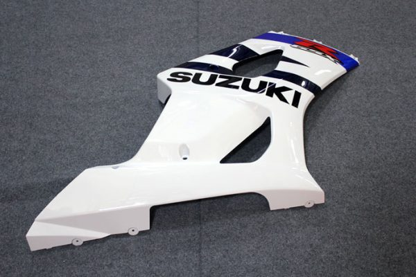 Пластик на мотоцикл Suzuki GSX-R1000 2003-2004 Бело-Синий-5