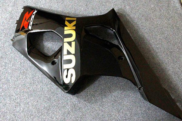 Пластик на мотоцикл Suzuki GSX-R1000 03-04 Черный-1