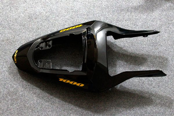 Пластик на мотоцикл Suzuki GSX-R1000 03-04 Черный-3