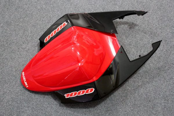 Пластик на мотоцикл Suzuki GSX-R1000 05-06 Красно-Черный-5