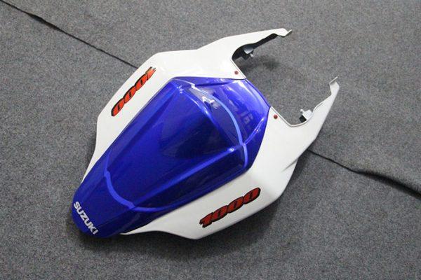 Пластик на мотоцикл Suzuki GSX-R1000 07-08 Color+ Бело-Синий-4