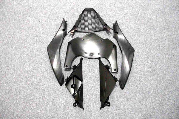 Пластик на мотоцикл Suzuki GSX-R1000 07-08 Color+ Черно-Красный-1