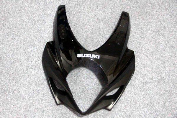 Пластик на мотоцикл Suzuki GSX-R1000 07-08 Color+ Черно-Красный-3