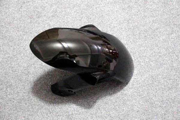 Пластик на мотоцикл Suzuki GSX-R1000 07-08 Color+ Черно-Красный-4