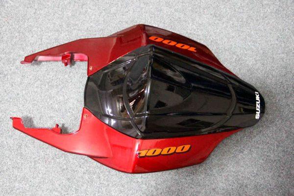 Пластик на мотоцикл Suzuki GSX-R1000 07-08 Color+ Черно-Красный-6