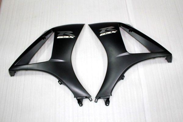 Пластик на мотоцикл Suzuki GSX-R1000 07-08 Черный-4