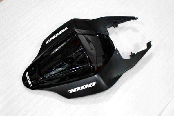 Пластик на мотоцикл Suzuki GSX-R1000 07-08 Черный-7