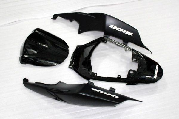Пластик на мотоцикл Suzuki GSX-R1000 07-08 Черный-8