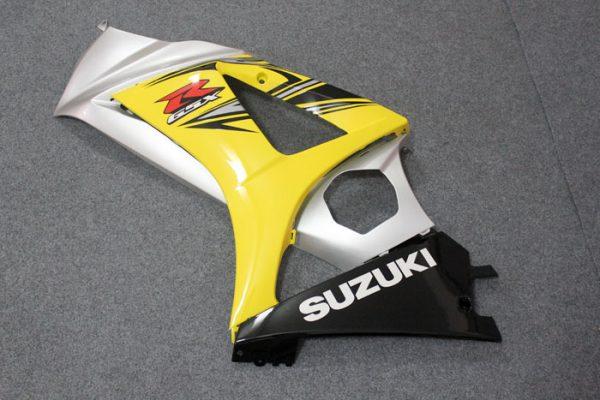 Пластик на мотоцикл Suzuki GSX-R1000 07-08 Желто-Серый-5
